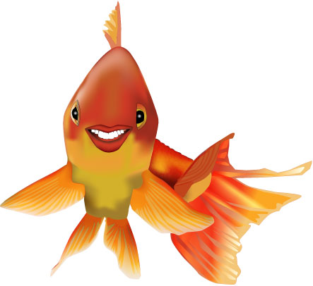 goldfish_smile_illustration