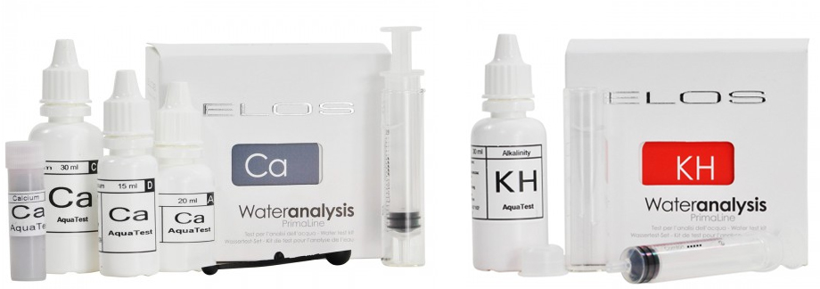 Elos Calcium and Alkalinity Test Kits