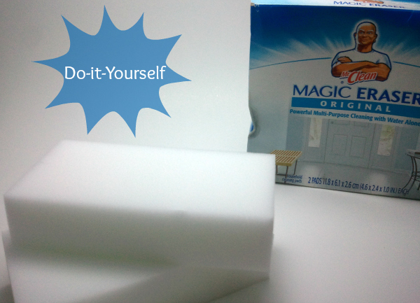 Mr. Clean Magic eraser works well to clean light algae outbreaks