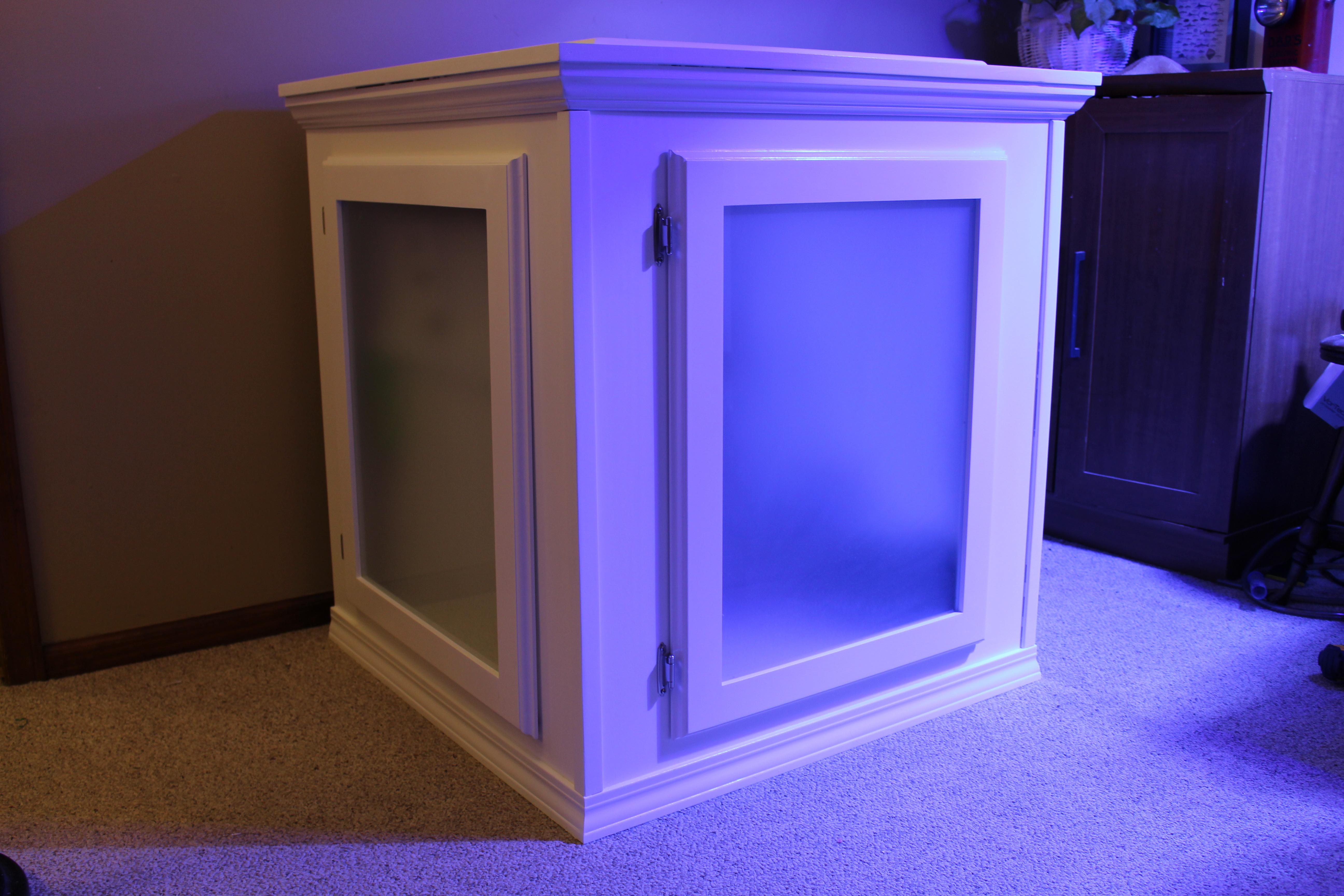 diy building an aquarium cabinet reefedition